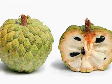 Тропические фрукты Вьетнама. Сахарное яблоко