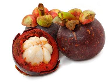 Тропические фрукты Вьетнама. Мангустины