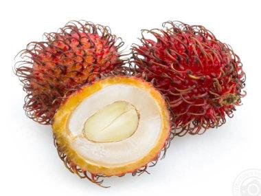 Тропические фрукты Вьетнама. Рамбутаны