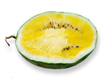 Тропические фрукты Вьетнама. Желтый арбуз