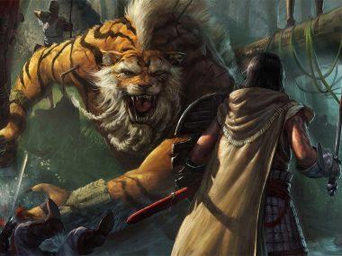 Вьетнамская легенда о воине, победившем тигра