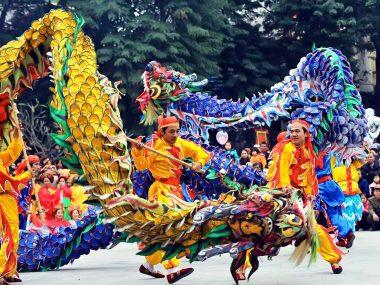 Вьетнамский танец дракона