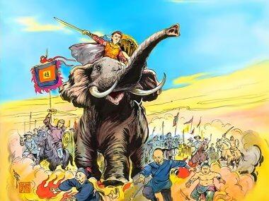 Восстание 19-летней Чьеу Тхи Чинь (Ba Trieu)