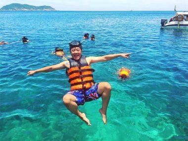 Восстановленные коралловые рифы и дайвинг вблизи Хойана