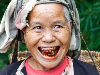 Зачем вьетнамцы жуют бетель